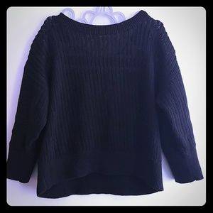 Gap sweater, black, M